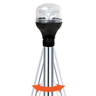 """LED ARTICULATING POLE LIGHT WITH LOCKING COLLAR-60"""" LED Light w/Locking Collar"""