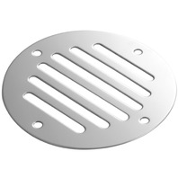 "STAINLESS STEEL DRAIN COVER, 3-1/4"" dia."
