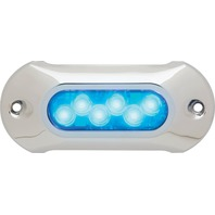 "LIGHT ARMOR LED UNDERWATER  LIGHT WITH COVER-5"" Light, Sapphire Blue LED"