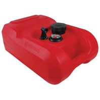 "ATTWOOD EPA/CARB COMPLIANT PORTABLE FUEL TANK-3 Gallon with Fuel Gauge, 11.45""W x 16.55""L x 7.3""H"