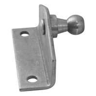 REPLACEMENT GAS SPRING MOUNTING BRACKET, STAINLESS STEEL-90 Degree, 2 Mounting Holes