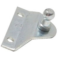 REPLACEMENT GAS SPRING MOUNTING BRACKET, STAINLESS STEEL-90 Degreew/45 Offset, 2 Mounting Holes
