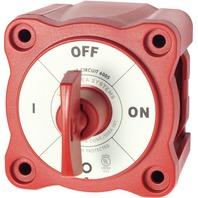 MINI SERIES BATTERY SWITCH-Single Circuit On/Off w/Key