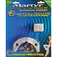 MARTYR ALUMINUM ANODE KIT FOR BRP/OMC 50-75 Hp
