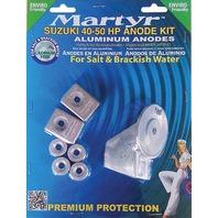 MARTYR ALUMINUM ANODE KIT FOR SUZUKI 40-50 Hp