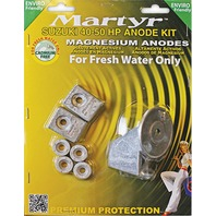 MAGNESIUM ANODE KIT for Suzuki 40-50 Hp Outboards