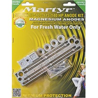 MAGNESIUM ANODE KIT for Suzuki 90-100-115-140 Hp Outboards