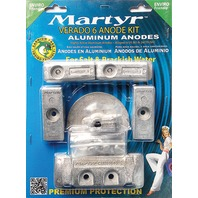 ALUMINUM ANODE KIT for Mercury Verado 6 Outboards