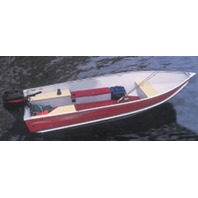 """V-HULL FISHING BOAT COVER, WIDE SERIES-16'6"""" x 76"""" Beam"""