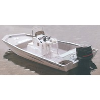 "COVER for ALUMINUM MODIFIED V-HULL JON BOATS W/HIGH CENTER CONSOLE-23'6"" x 100"""