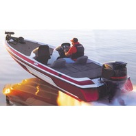 """WIDE BASS BOAT COVER-18'6"""" x 96"""" Beam"""