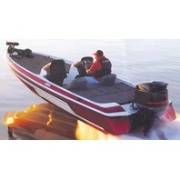 """WIDE BASS BOAT COVER-19'6"""" x 96"""" Beam"""