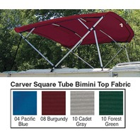 Pacific Blue Replacement Canvas Fabric for 4 Bow 8' Square Tube Pontoon Frame
