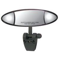 CIPA ELLIPSE 3-Section Ski Mirror with Pivot-Cup Mt Bracket