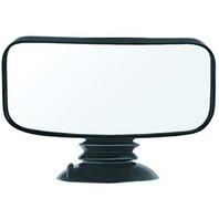 """Universal Convex 4"""" x 8"""" Suction Cup Mirror"""