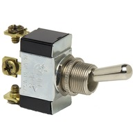 HEAVY DUTY SINGLE POLE TOGGLE SWITCH-On-Off-On, SPDT  FIG 2