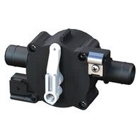 3-POSITION SELECT VALVE, 3/4 QWIK-LOK, Fill/Recirc/Empty, Rear Cable