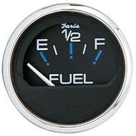 "CHESAPEAKE SERIES GAUGE, BLACK/SS-2"" Fuel Level Gauge"