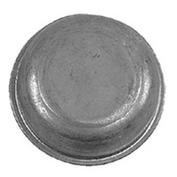 "Wesbar Zinc Plated Grease Cap-Fits 1.78"" dia. Hub"