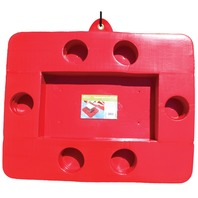 Gail Force CONNECTABLE COOLER TRAY-Red Cooler Float