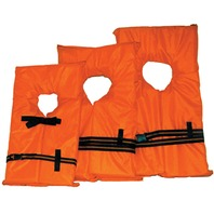 AK-1 LIFE VEST-Child Sm. Under 50 lbs.; Orange