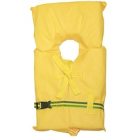 AK-1 LIFE VEST-Child Med 50-90 lbs. Yellow