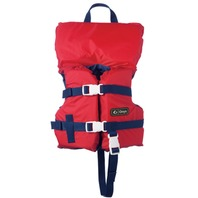 ONYX NYLON GENERAL PURPOSE LIFE VEST-Infant Under 30 lbs, Red/Navy