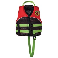 "FULL THROTTLE  WATER BUDDY CHILD VEST-Child 20-25"", 30-50 lbs, Red Lady Bug"