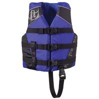 "FULL THROTTLE CHILD NYLON WATER SPORTS VEST-Child 20-25"", 30-50 lbs, Blue"