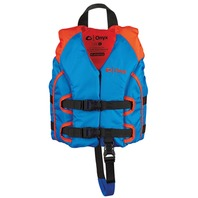 ALL-ADVENTURE CHILD VEST-Child 30-50 lbs, Blue/Orange