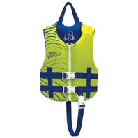 "FULL THROTTLE RAPID DRY VEST-Child 20-25"", 30-50 lbs, Yellow/Blue Life Jacket"