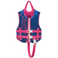 "FULL THROTTLE CHILD RAPID DRY VEST-Child 20-25"", 30-50 lbs, Pink/Blue"