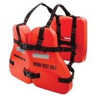 TYPE V Universal Vinyl Dipped Commecial Work Life Vest