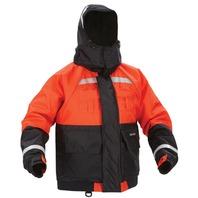 """DELUXE FLOTATION JACKET W/ ARCTICSHIELD TECHNOLOGY HOOD-XL, 44 - 48"""", Orange/Black"""
