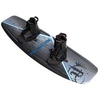 AQUA EXTREME WAKEBOARD-Aqua Extreme Black, Laceup Bindings