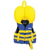 AIRHEAD NYLON INFANT VEST-Infant Vest, Blue 15-30lb.