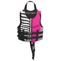AIRHEAD WICKED NEOLITE VEST-Child, Up to 30-50 lbs, Hot Pink