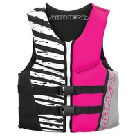 AIRHEAD WICKED NEOLITE VEST-Youth, Up to 50-90 lbs, Hot Pink