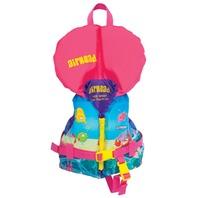 AIRHEAD INFANT NYLON VEST-Infant, Up to 30 lbs, Reef Design