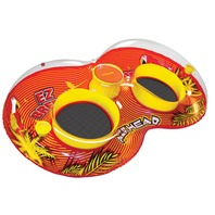 "AIRHEAD EZ Breeze  Duo Pool Float, 47"" x 84"""