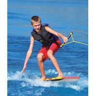 "AIRHEAD SKI TRAINER & BODYBOARD-EZ Wake Trainer, 1 Rider, 70 lbs. Capacity, 47""L"