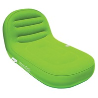 """AIRHEAD SUN COMFORT COOL SUEDE CHAISE LOUNGE-90"""" x 36"""", Lime"""