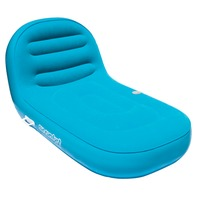 """AIRHEAD SUN COMFORT COOL SUEDE CHAISE LOUNGE-90"""" x 36"""", Sapphire"""