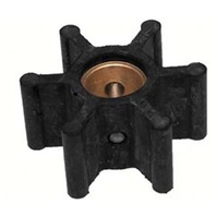 "JOHNSON PUMP REPLACEMENT IMPELLER, NEOPRENE-For F5 Pump, 12 Blade, 2.25""OD, 1.24""W"