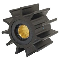 "JOHNSON PUMP REPLACEMENT IMPELLER, NITRILE-For F8 Pump, 11 Blade, 3.74""OD, 2.48""W"