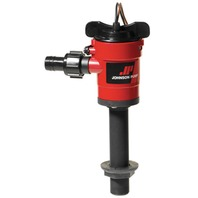 JOHNSON LIVEWELL CARTRIDGE AERATING PUMP-Inline 750 GPH, Straight 28703