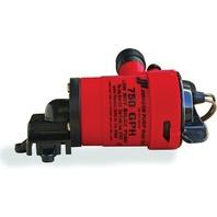 LOW BOY COMPACT BILGE PUMP-750 GPH, Uses repl. Cartridge 28572