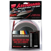 """KEEL GUARD-5""""W x 5'L; Black, For Boats 15-16' L"""