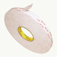 "3M VHB 4950 VERY HIGH BOND FOAM TAPE-3/4"""" x 36 yd VHB Foam Tape, White"