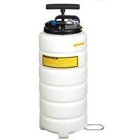 HIGH CAPACITY PNEUMATIC/MANUAL FLUID EXTRACTOR-15 Liter Fluid Extractor